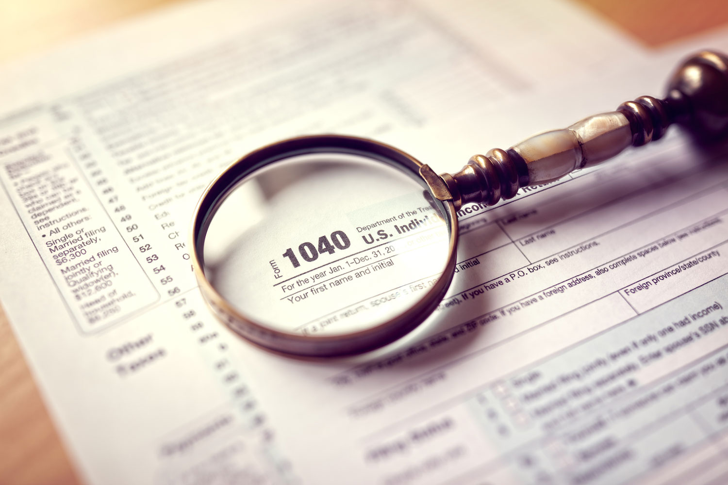 1040 form - How to Amend a Tax Return for a Prior Year